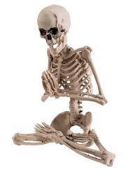 Décoration squelette yoga 18 cm
