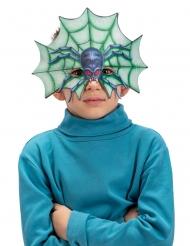 Demi masque araignée enfant