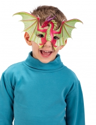 Demi masque dragon enfant