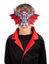 Demi masque vampire enfant