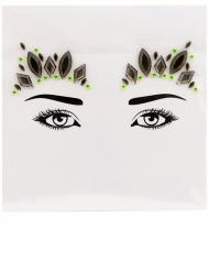 Stickers pour visage princesse crystal femme femme