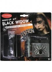 Kit maquillage veuve noire adulte
