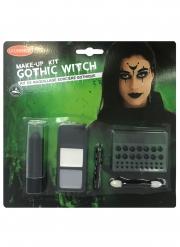 Kit maquillage sorcière gothique adulte