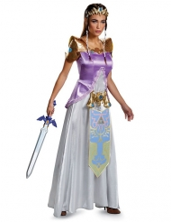 Déguisement princesse Zelda™ deluxe femme