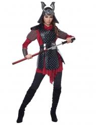 Déguisement guerrière samourai femme