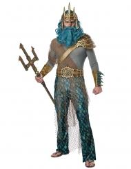 Déguisement dieu de la mer homme