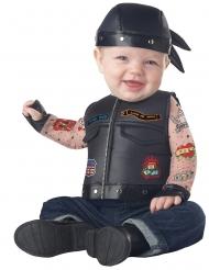 Déguisement motard bébé