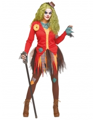 Déguisement clown bagarreuse femme