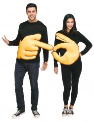 Déguisement couple OK et pointeur adulte