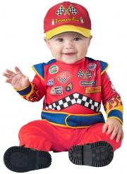 Déguisement pilote de course bébé