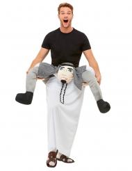 Déguisement homme à dos cheick arabe adulte