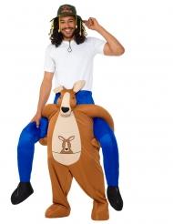 Déguisement homme à dos de kangourou adulte