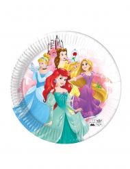 8 Assiettes en carton compostable Princesses Disney™ 23 cm