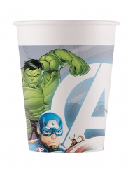 8 Gobelets en carton compostable Avengers™ 200 ml