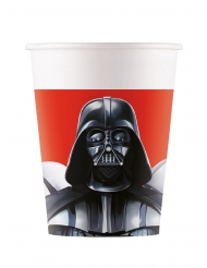 8 Gobelets en carton Star Wars Final Battle™ 200 ml