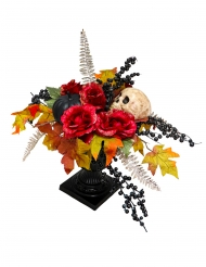 Centre de table fleurs Dia de los muertos 16 X 47 cm