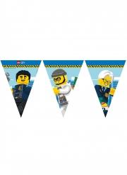 Guirlande fanions en papier FSC® Lego City™ 2,3 m