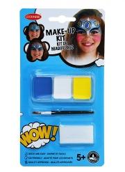 Kit maquillage princesse orientale avec pinceau et éponge fille