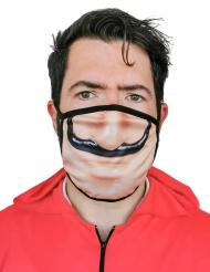 Masque cache nez imprimé voleur adulte