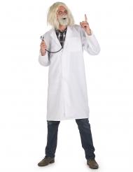 Déguisement blouse docteur savant adulte