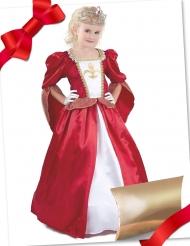 Coffret cadeau déguisement princesse médiévale avec accessoires fille