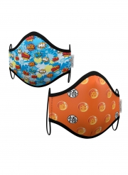 Boîte de 2 masques de protection enfant réutilisables Dragon Ball™