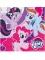 20 Serviettes en papier My Little Pony™ 33 x 33 cm