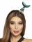 Serre-tête queue de sirène bleue adulte