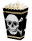 4 Boîtes à popcorn Pirate Jolly Roger en carton