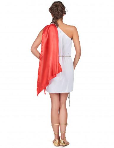 Déguisement déesse romaine courte femme-2