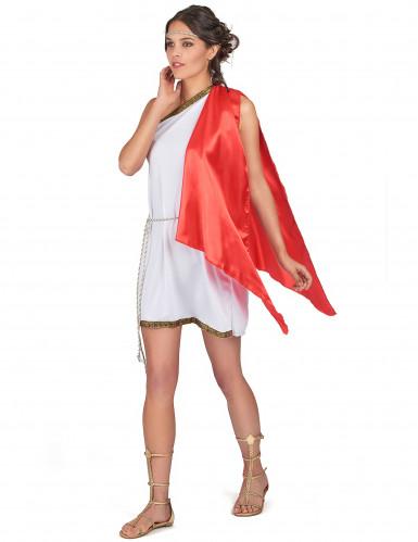 Déguisement déesse romaine courte femme-1
