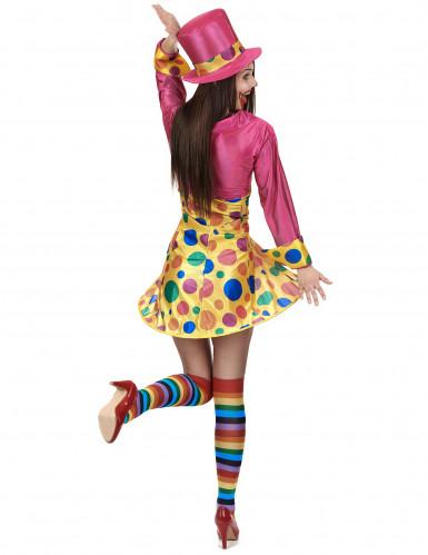 Déguisement clown amusant femme-2