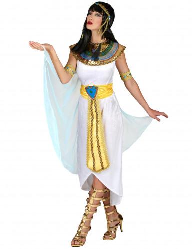 Déguisement reine d'Égypte avec voile femme-1