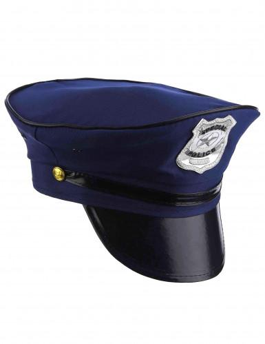 Casquette de policier adulte