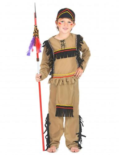 Déguisement indien marron clair garçon