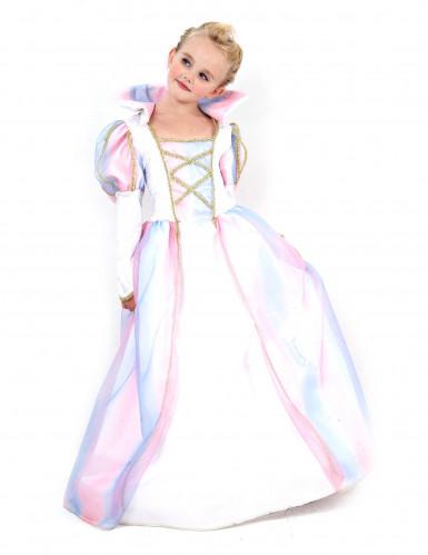 Déguisement princesse multicolore fille