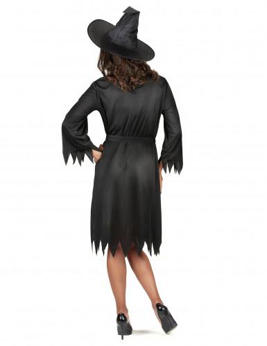 Déguisement noir sorcière femme Halloween-2
