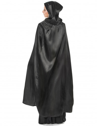 Cape vampire noire adulte Halloween-2