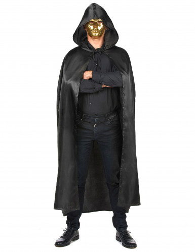 Cape vampire noire adulte Halloween-3