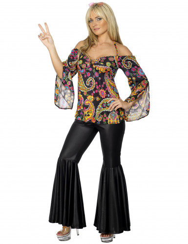 Déguisement hippie Johanna femme