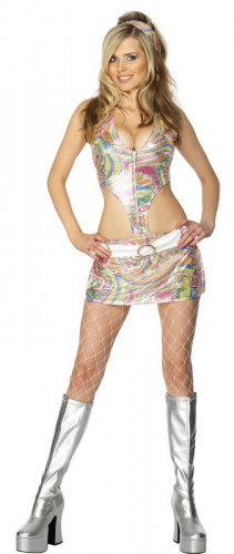 Déguisement disco femme sexy