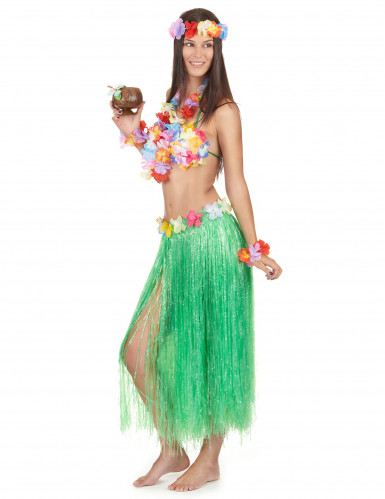 Set Hawaï vert adulte-2