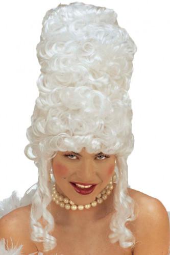 Perruque bouclée Marie Antoinette femme