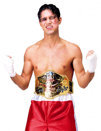 Ceinture champion de boxe adulte