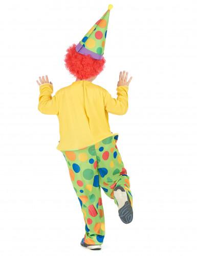 Déguisement clown joyeux garçon-2
