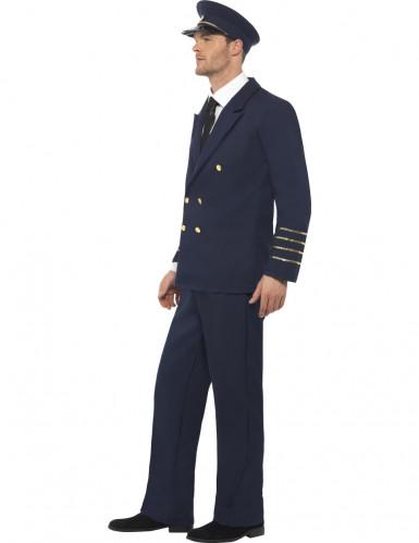 Déguisement pilote de ligne homme