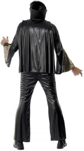 Déguisement Elvis Presley™noir et doré homme-1