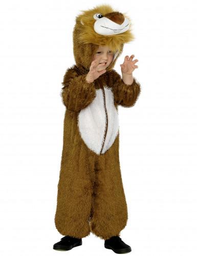Déguisement lion combinaison zip enfant