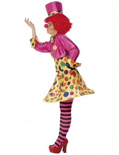 Déguisement clown complet femme-1