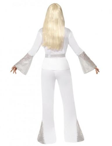 Déguisement disco blanc femme-2